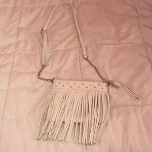 Justice Fringe Crossbody Bag